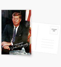 President John F. Kennedy Vintage Postcard Postcards