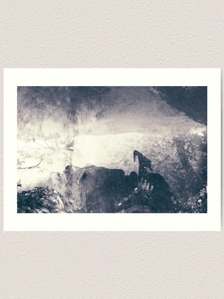 Alternate view of LAZY CALM Art Print
