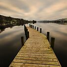 Coniston Water Jetty by John Hare