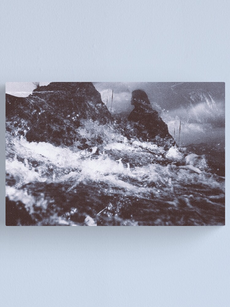 Alternate view of LAZY CALM Canvas Print