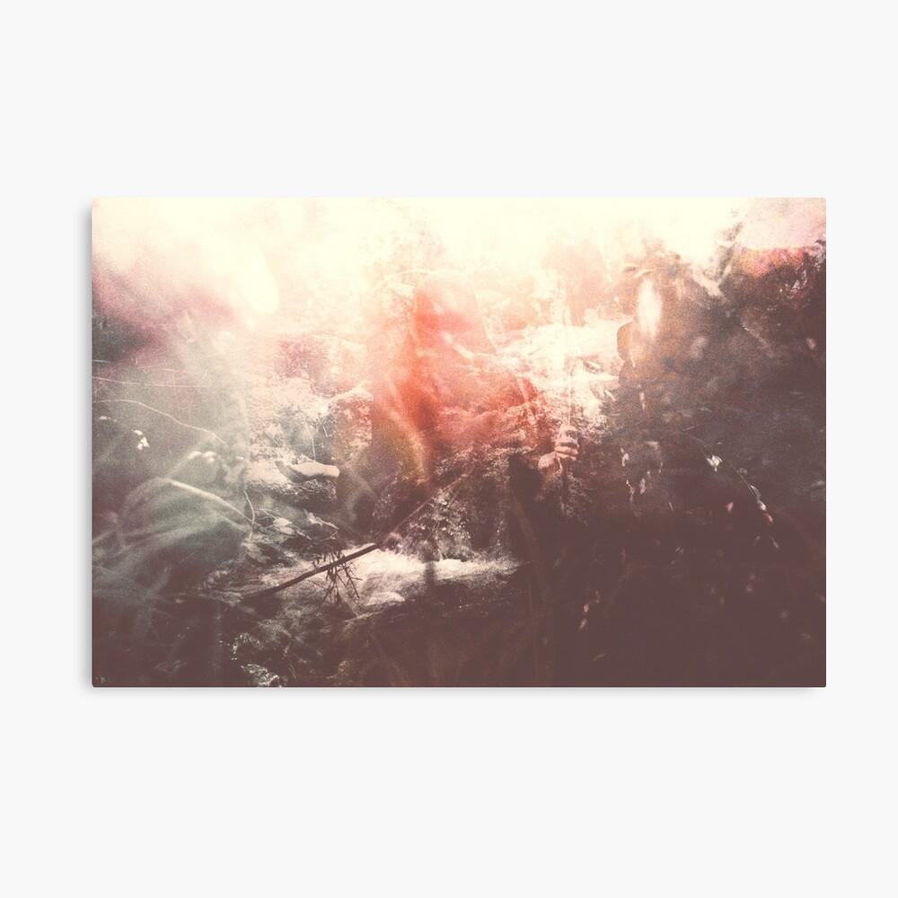 LAZY CALM Canvas Print