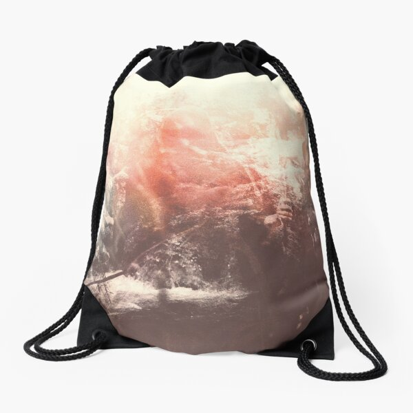LAZY CALM Drawstring Bag