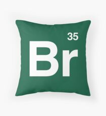Br 35 -Breaking Bad Periodic Throw Pillow