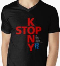 STOP KONY.2 2012 Mens V-Neck T-Shirt