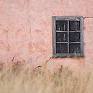 Peach House Detail - Grand Teton National Park by A.M. Ruttle