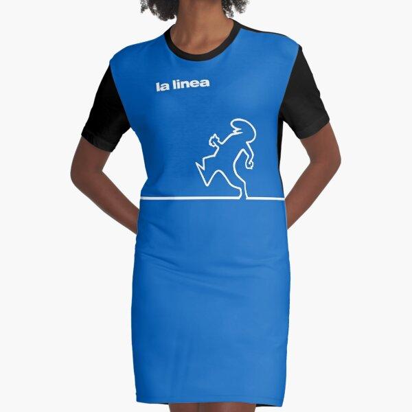 La Linea 2 Graphic T-Shirt Dress