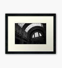 Inside Central Station, Milan Framed Print