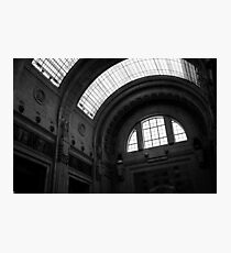 Inside Central Station, Milan Photographic Print