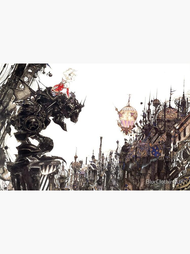 Yoshitaka Amano - Final Fantasy VI Artwork by BlurClothingUK