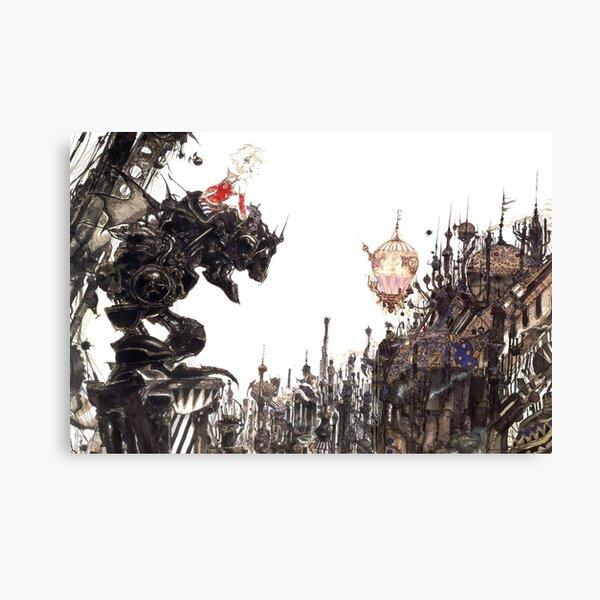 Yoshitaka Amano - Oeuvre de Final Fantasy VI Impression sur toile