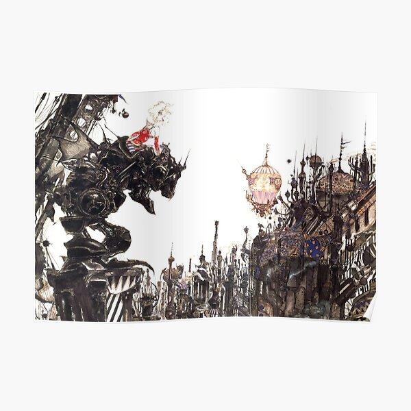 Yoshitaka Amano - Oeuvre de Final Fantasy VI Poster
