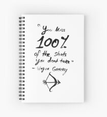 100%  Spiral Notebook