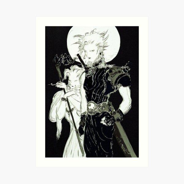 Yoshitaka Amano - Final Fantasy VII Artwork Art Print