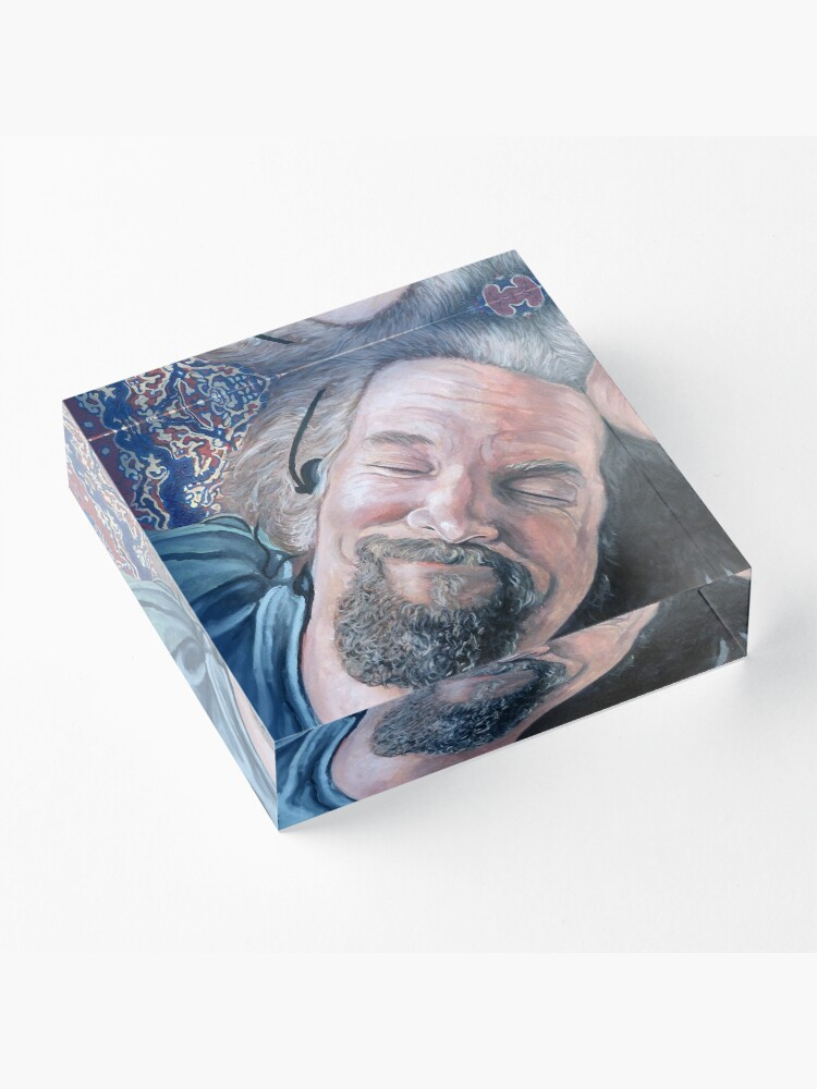 Alternate view of The Dude Acrylic Block