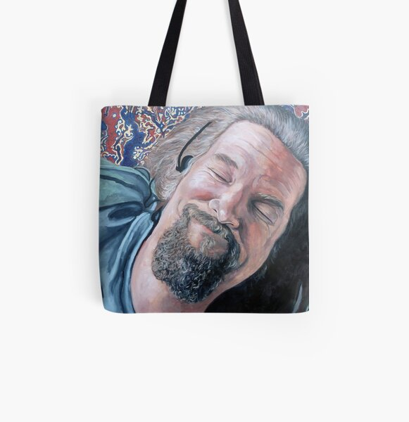 The Dude All Over Print Tote Bag