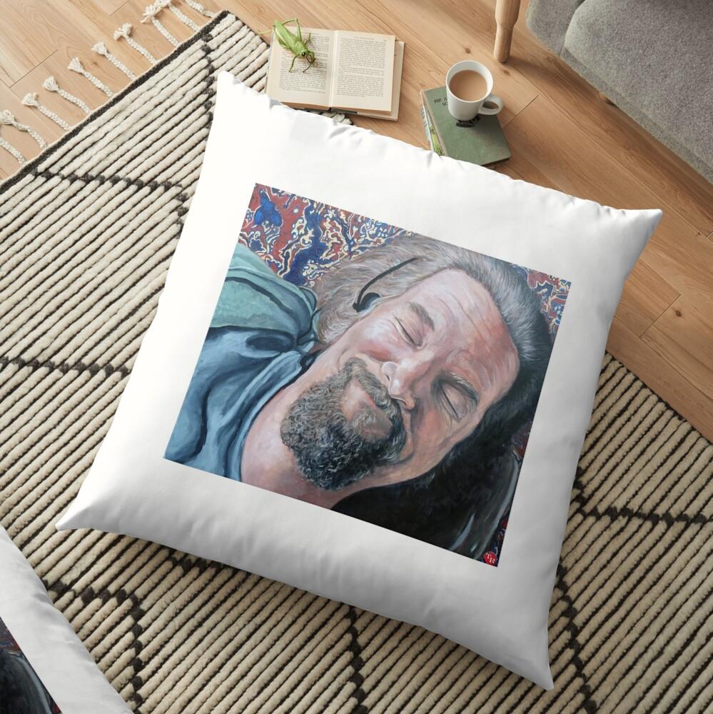 The Dude Floor Pillow