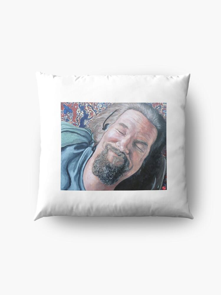 Alternate view of The Dude Floor Pillow