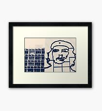 Che Lines Framed Print