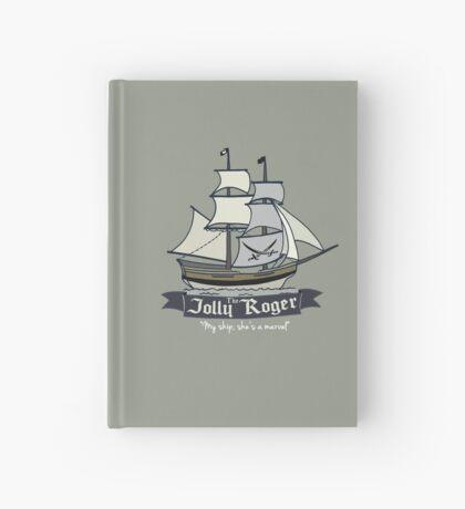 The Jolly Roger Hardcover Journal