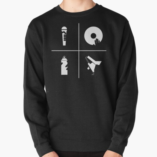 The Four Elements of Hip-Hop Pullover Sweatshirt