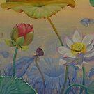 Lotus path by Yuliya Glavnaya