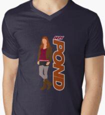 POND. Amy POND Men's V-Neck T-Shirt