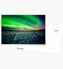 Beach Lake Aurora Postcards