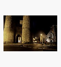 West Gate By Moonlight Photographic Print