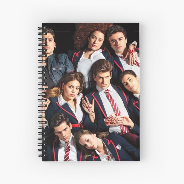 Serie Elite Netflix Cuaderno de espiral