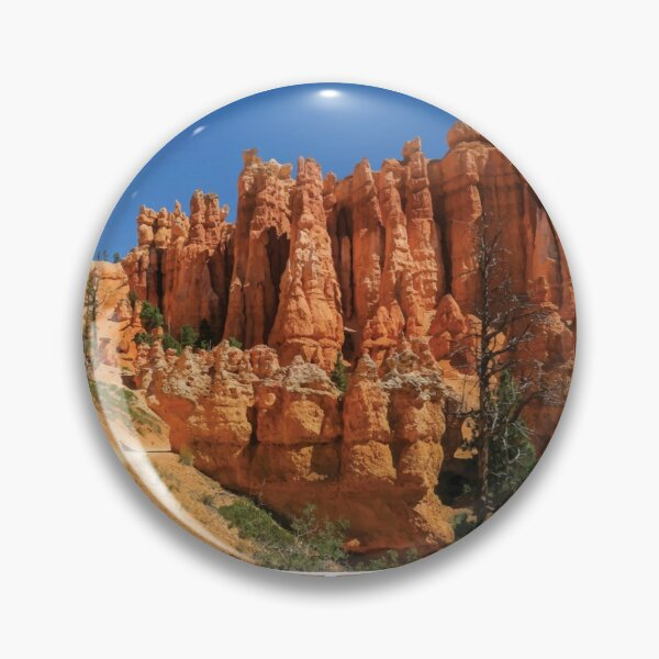 Bryce Canyon National Park hoodoos Utah vintage retro Pin