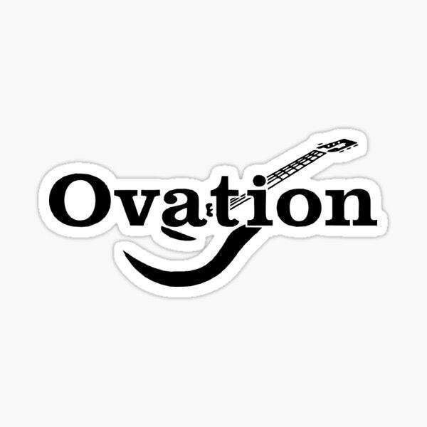 Ovation Guitars Logo Sticker