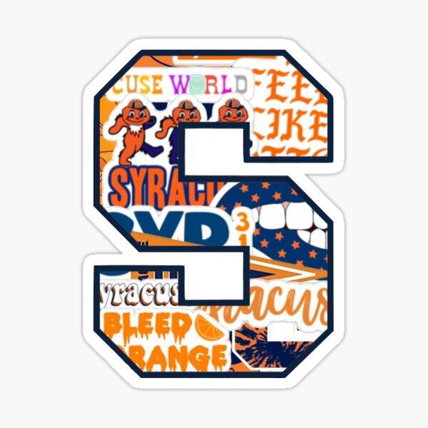Syrcause Logo Collage Sticker