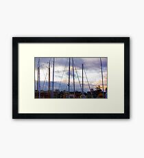 San Francisco Marina Framed Print