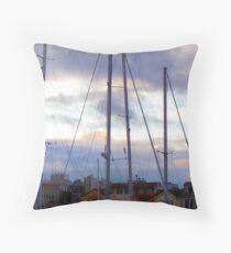 San Francisco Marina Throw Pillow