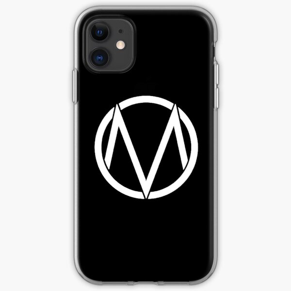 The Maine - Band  Logo White iPhone Soft Case