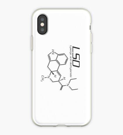 LSD Molecule iPhone Case
