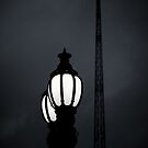 Lamp and Spire by Andrew Wilson