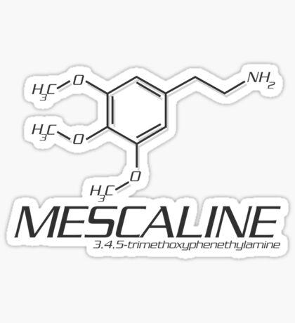 MESCALINE Molecule Sticker