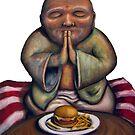 Mc Buddha Sticker by tank