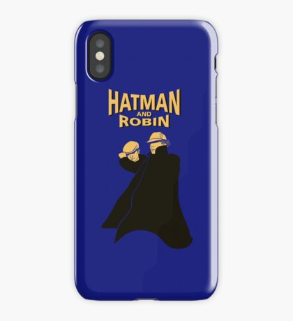 Hatman and Robin iPhone Case/Skin