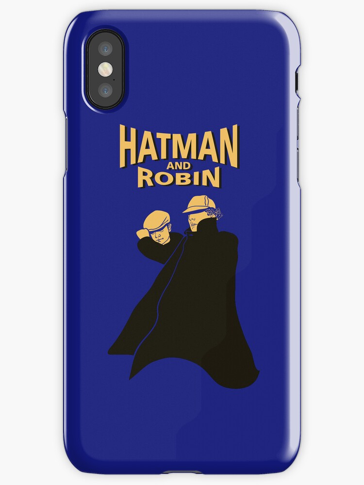 Hatman and Robin by ikado