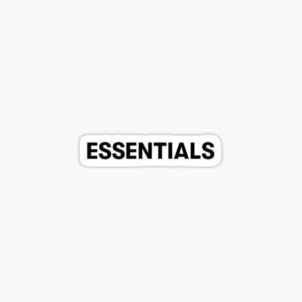 Fear of God Essentials Sticker