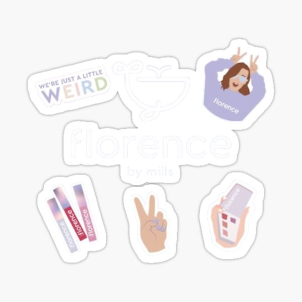 Florence by mills Sticker