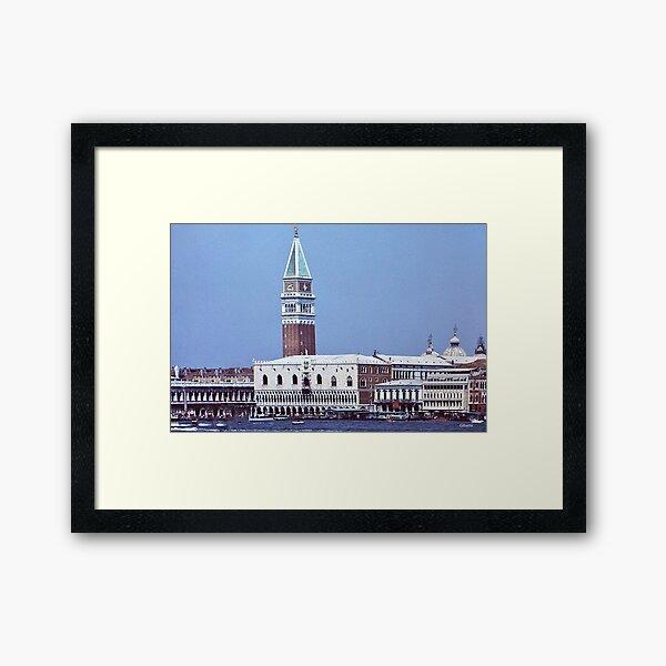 Palazzo ducale e Campanile  -  Venezia Framed Art Print