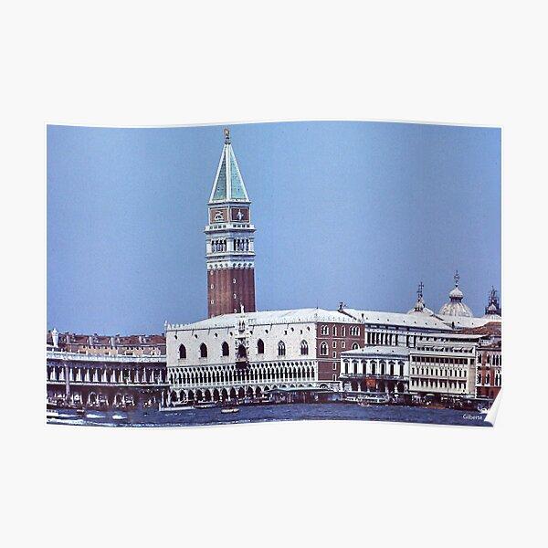 Palazzo ducale e Campanile  -  Venezia Poster