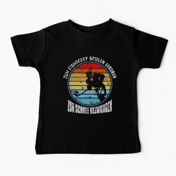 Eishockey Retro Vintage Eishockey geboren Baby T-Shirt