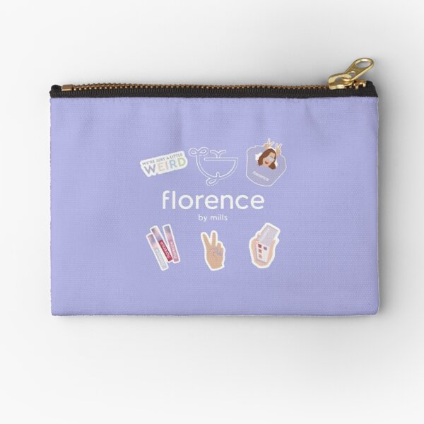 Florence By Mills Zipper Pouch By Kcartoons Redbubble
