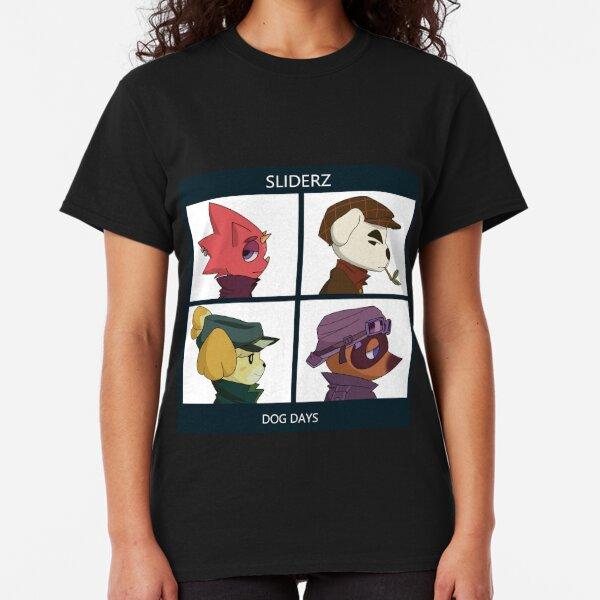 Gorillaz Animal Crossing Dog Days Camiseta clásica