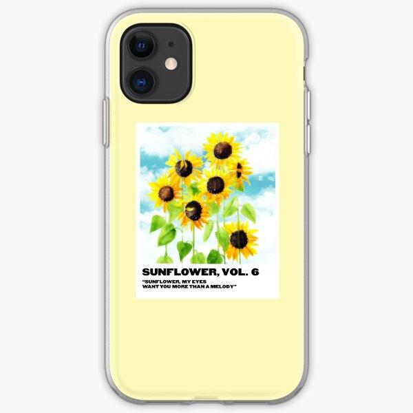 sunflower, vol. 6 polaroid iPhone Soft Case