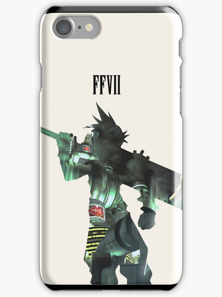 Final fantasy Cloud Strife iPhone Cover by richrockcandy